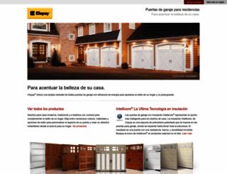 spanish.clopaydoor.com screenshot