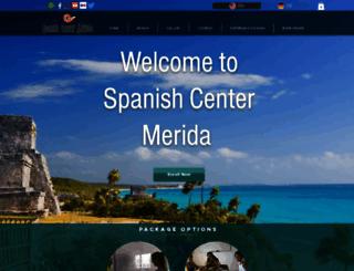 spanishcentermerida.com screenshot