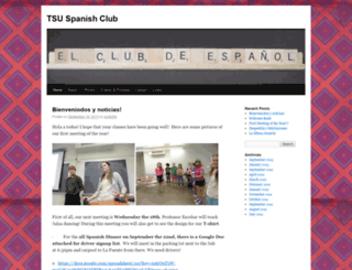 spanishclub.truman.edu screenshot