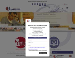 spanishcoursesunamuno.com screenshot