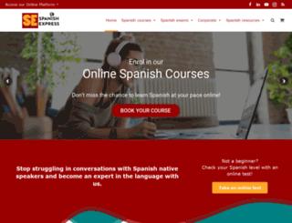 spanishexpress.co.uk screenshot