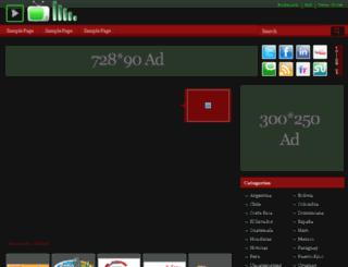 spanishradio.org screenshot