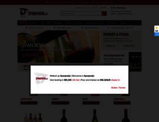 spanjewijn.nl screenshot