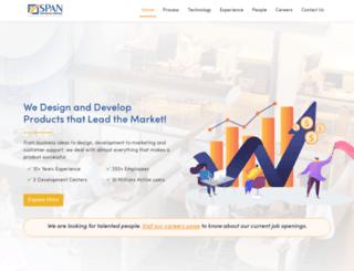 spantechnologyservices.com screenshot