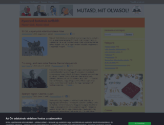spanyolonline.cafeblog.hu screenshot