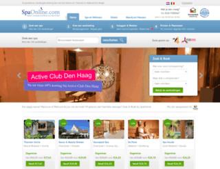 spaonline.com screenshot