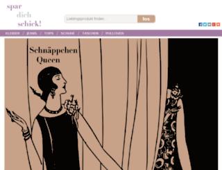spar-dich-schick.de screenshot