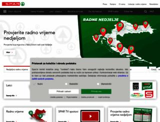 spar.hr screenshot