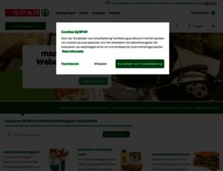 spar.nl screenshot