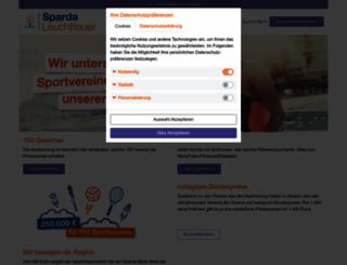 sparda-umweltpreis.de screenshot