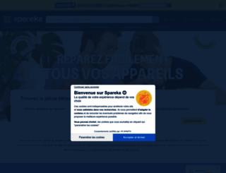 spareka.fr screenshot