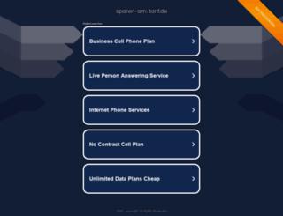 sparen-am-tarif.de screenshot