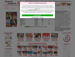 sparen-wie-schwaben.de screenshot