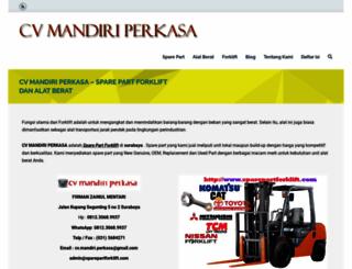 sparepartforklift.com screenshot