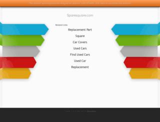 sparesquare.com screenshot
