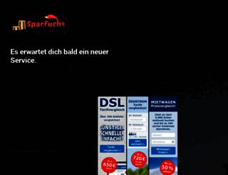 sparfuchs.eu screenshot