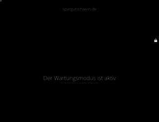 spargutschwein.de screenshot