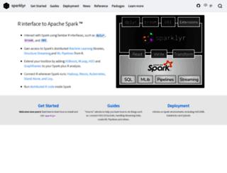 spark.rstudio.com screenshot