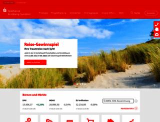 sparkasse-arnsberg-sundern.de screenshot