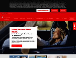 sparkasse-bielefeld.de screenshot