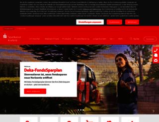 sparkasse-krefeld.de screenshot