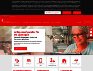 sparkasse-mainfranken.de screenshot