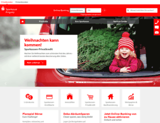 sparkasse-prignitz.de screenshot