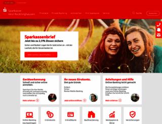sparkasse-re.de screenshot