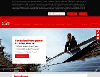 sparkasse-sw.de screenshot