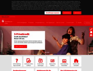 sparkasse-ulm.de screenshot