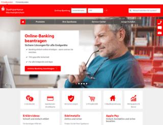 sparkasse-wermelskirchen.de screenshot