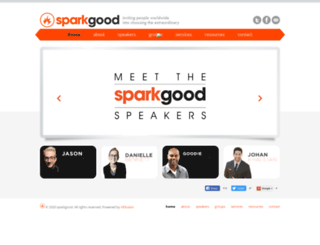 sparkgood.com screenshot