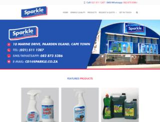 sparkle.co.za screenshot
