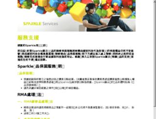 sparkle.com.tw screenshot