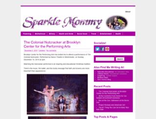 sparklemommy.com screenshot