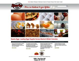 sparkseggs.com screenshot