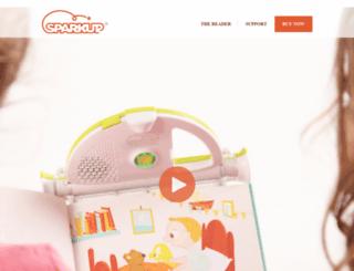 sparkupreader.com screenshot