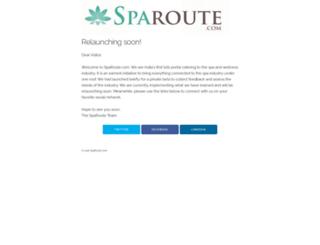 sparoute.com screenshot
