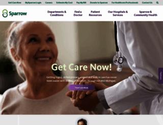 sparrow.org screenshot
