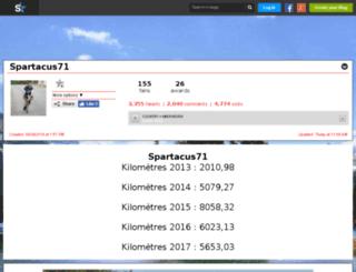 spartacus71.skyrock.com screenshot