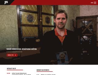 spartaforever.cz screenshot