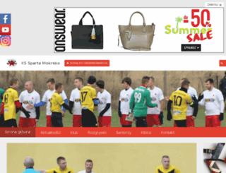 spartamokrsko.pl screenshot