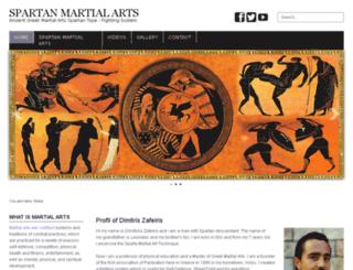 spartan-martialarts.com screenshot
