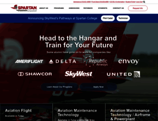 spartan.edu screenshot