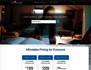 spartanburgsc.universalclass.com screenshot