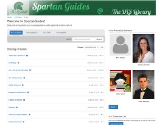 spartanguides.dlshs.org screenshot