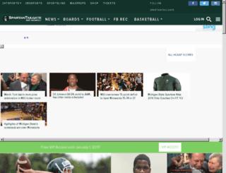 spartantailgate.com screenshot