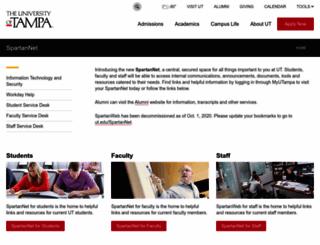 spartanweb.ut.edu screenshot