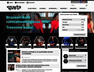 spartasport.ee screenshot
