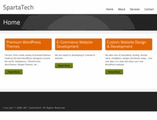 spartatech-inc.com screenshot